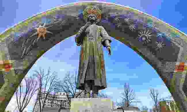The Monument of Rudaki, Dushanbe (Dreamstime)
