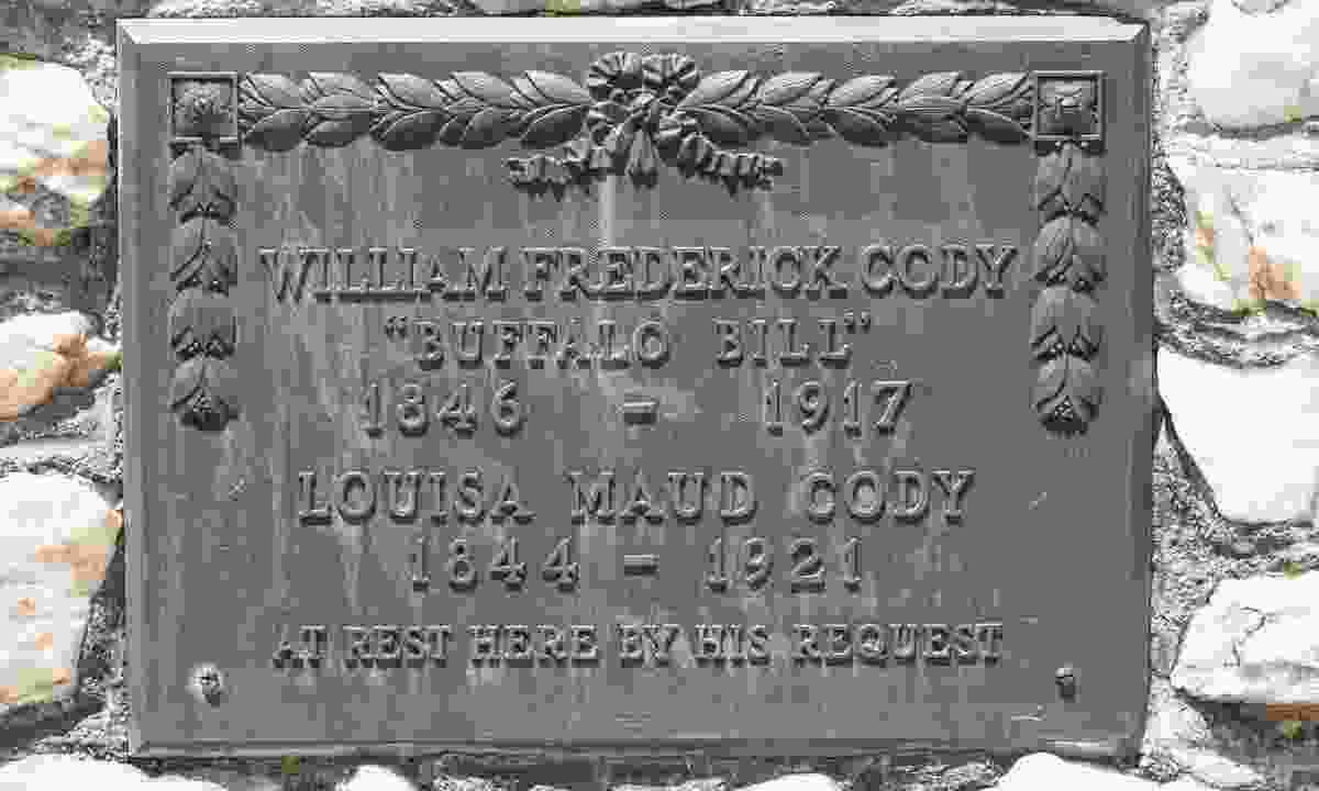 Grave of William Frederick 'Buffalo Bill' Cody (Dreamstime)