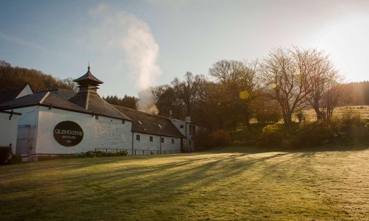 Under the glow of the Scottish sun (Glengoyne Distillery)