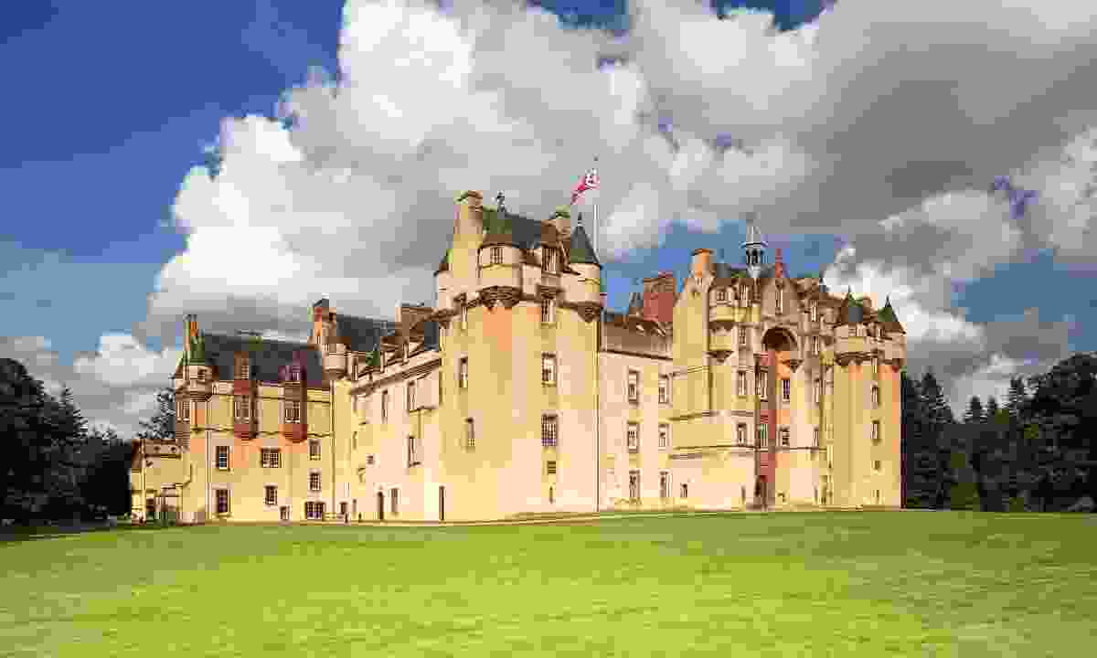 Fyvie Castle in Aberdeenshire (Shutterstock)