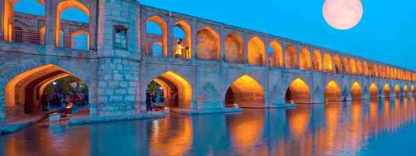 Ancient Khaju Bridge in Isfahan (Shutterstock)