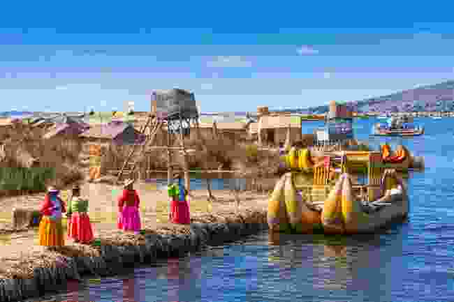 Uros Island on Lake Titicaca (Shutterstock)
