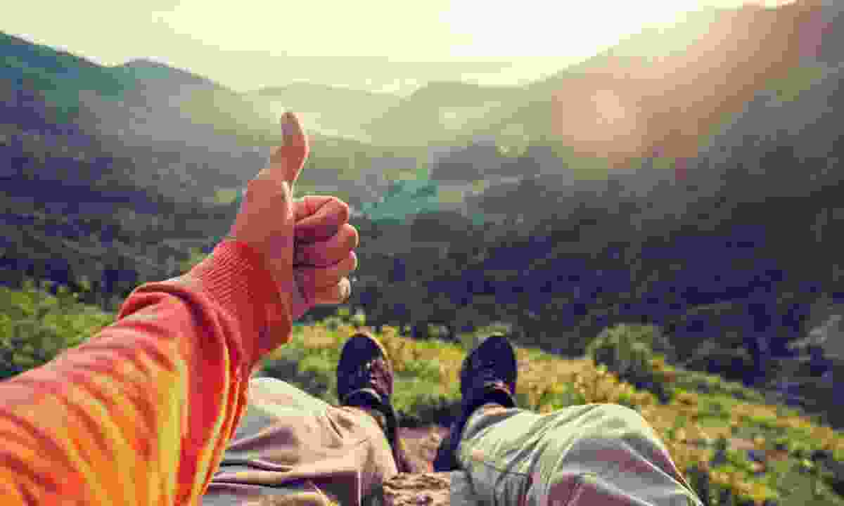 Give a thumbs up to responsible travel (Shutterstock)