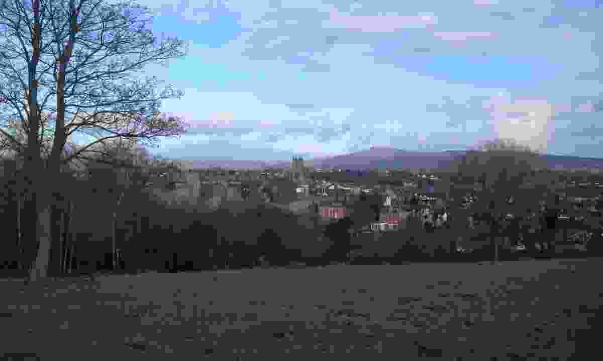 Ludlow from Whitecliff Common (Hannah Mackley)