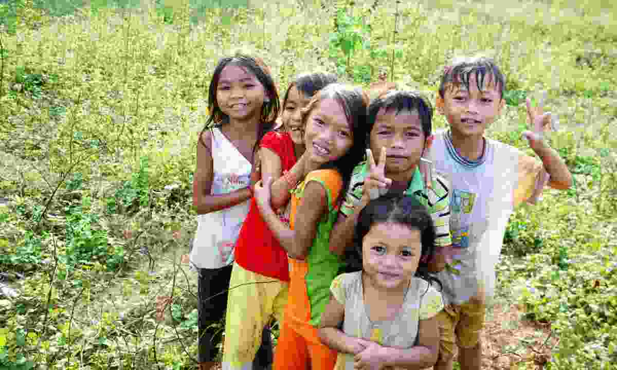 Children in Khanh Hoa, Vietnam (Dreamstime)