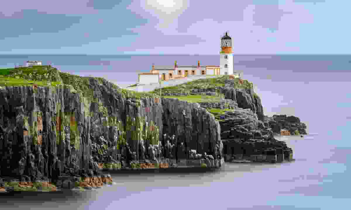 Neist Point Lighthouse, Isle of Skye, Scotland (Dreamstime)