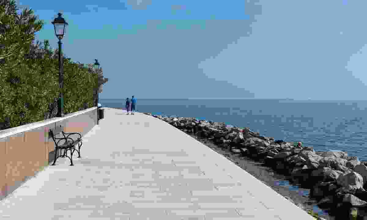 The seafront promenade in Grado, Italy (Dreamstime)