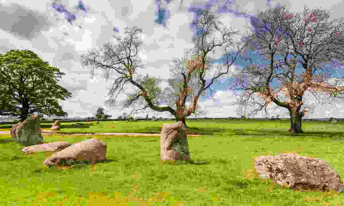 Long Meg and Her Daughters (Dreamstime)