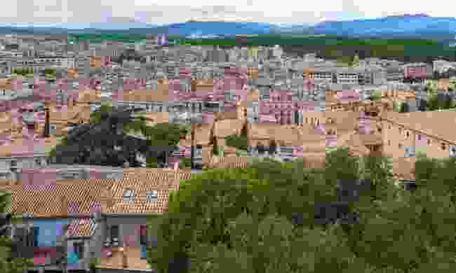 A view over the top of Girona's historic and energetic old town (Dreamstime)
