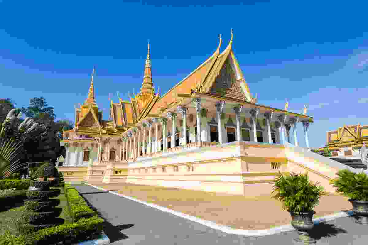 The Royal Palace, Phnom Penh. (Dreamstime)
