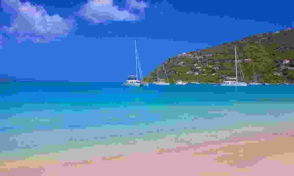 Cane Garden Bay in Tortola (Dreamstime)