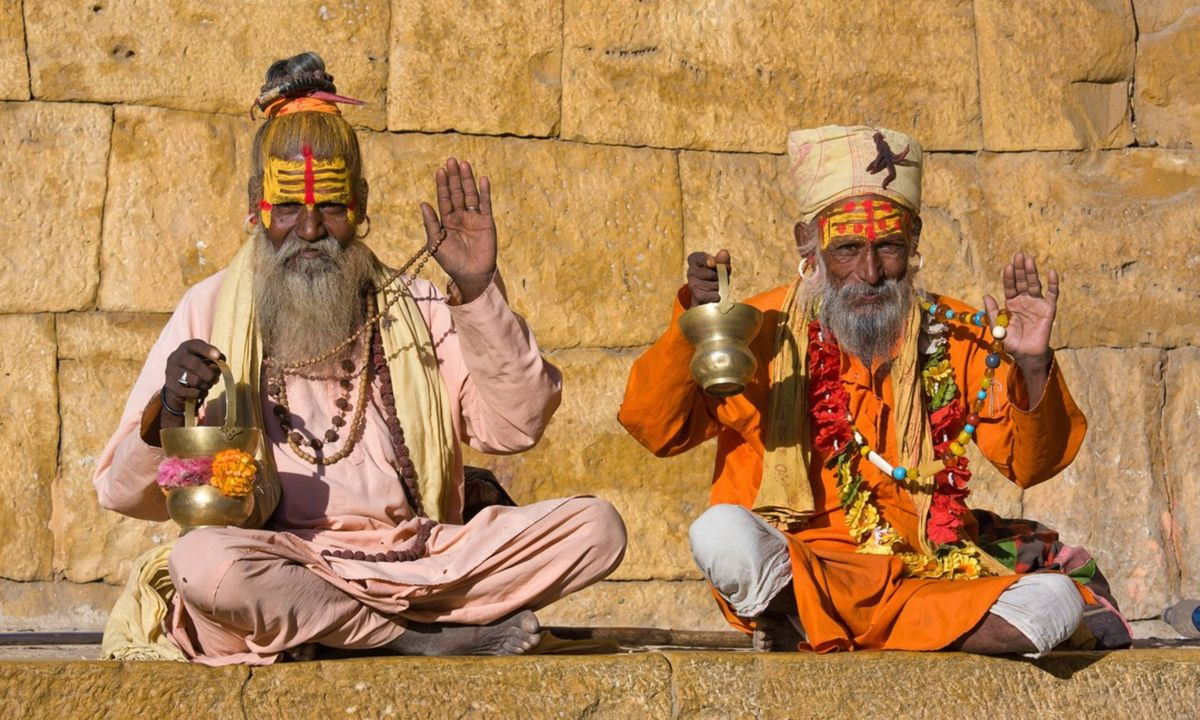 Indian sadhus (Shutterstock)