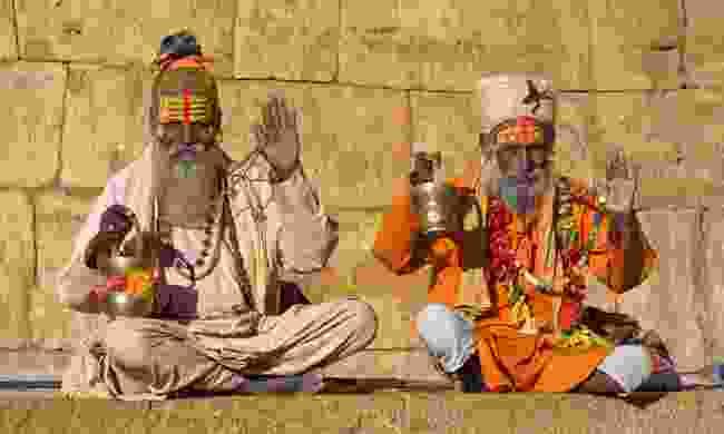 Indian sadhus (Shutterstock)