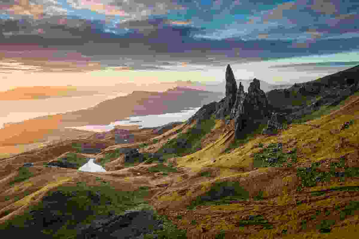 Sunrise over the Old Man of Storr (Dougie Cunningham)
