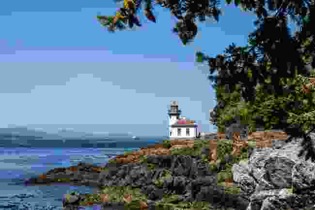Lime Kiln Lighthouse, San Juan Islands (Shutterstock)