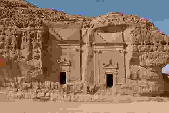 Mada'in Saleh, in north-west Saudi Arabia (Shutterstock)