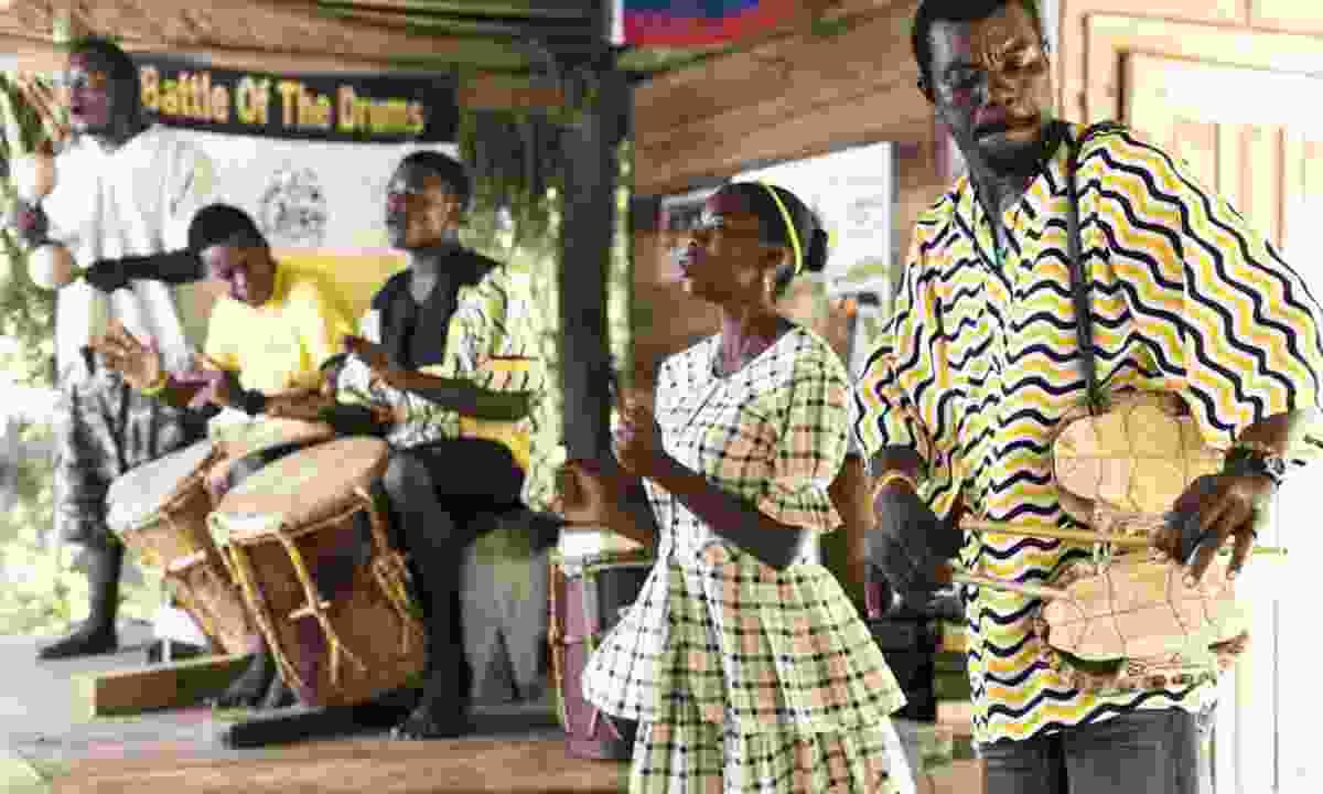 Belize drummers (Dreamstime)