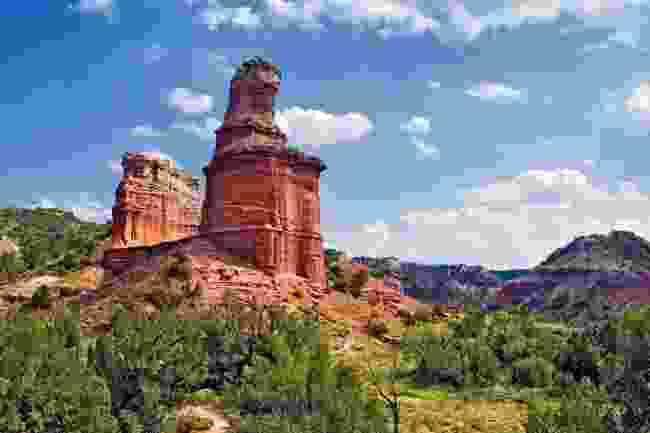 Lighthouse Formation Palo Duro Canyon, Texas (Shutterstock)
