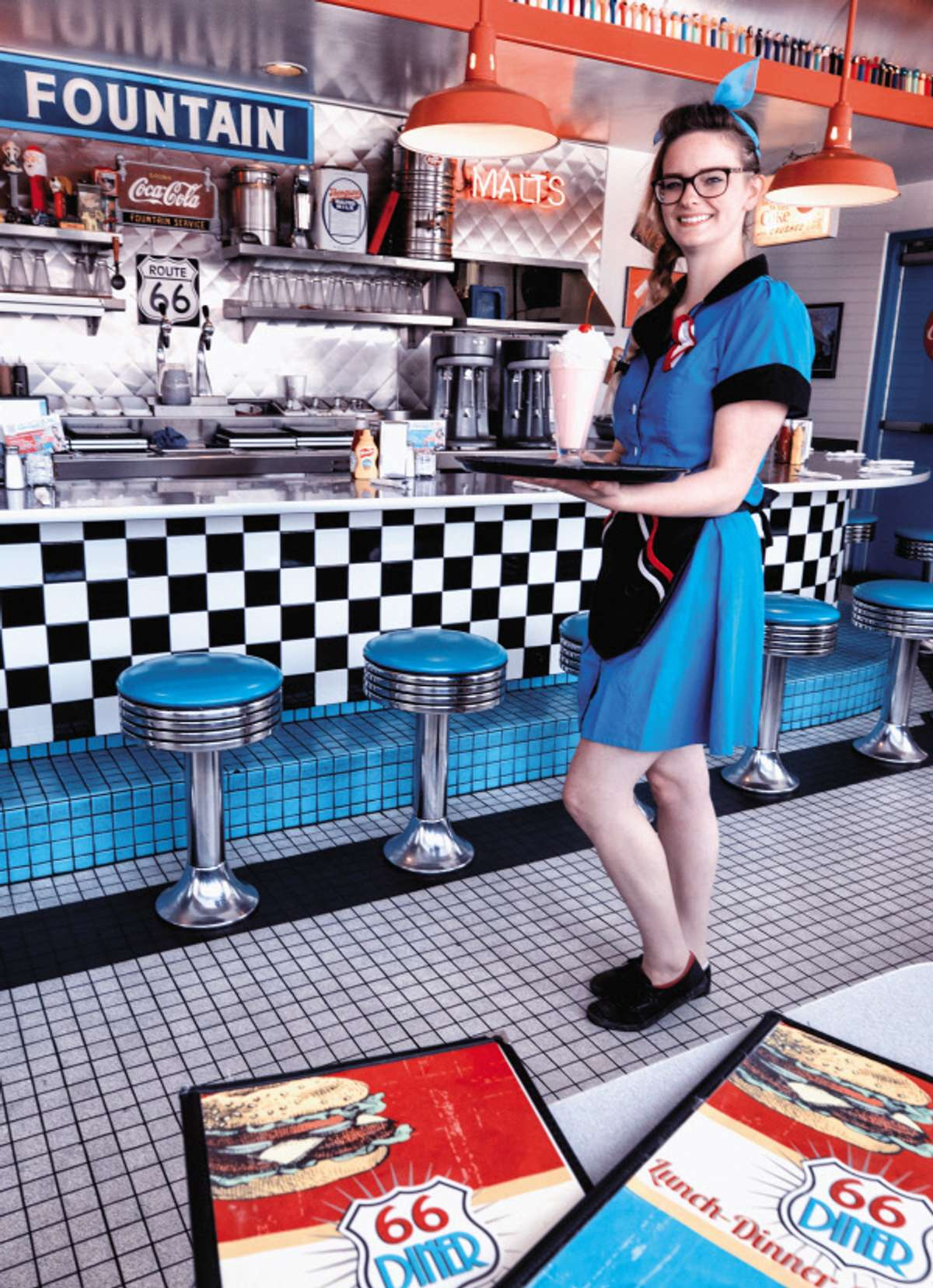 Eat at classic American diners along Route 66 (Rick Sammon)