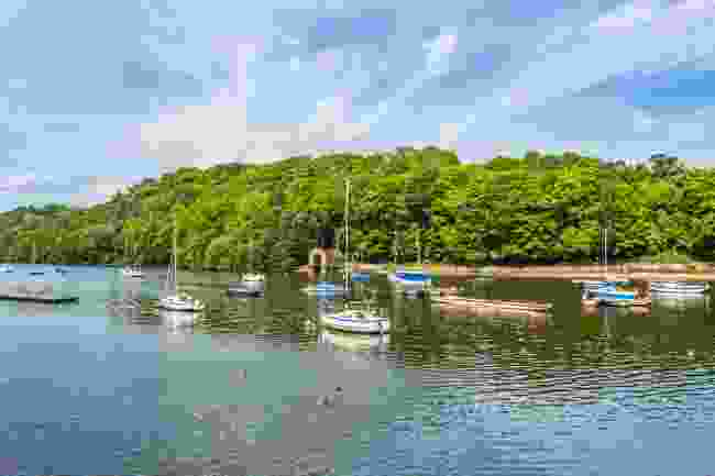 Boats on Rudyard Lake, Staffordshire (Shutterstock)