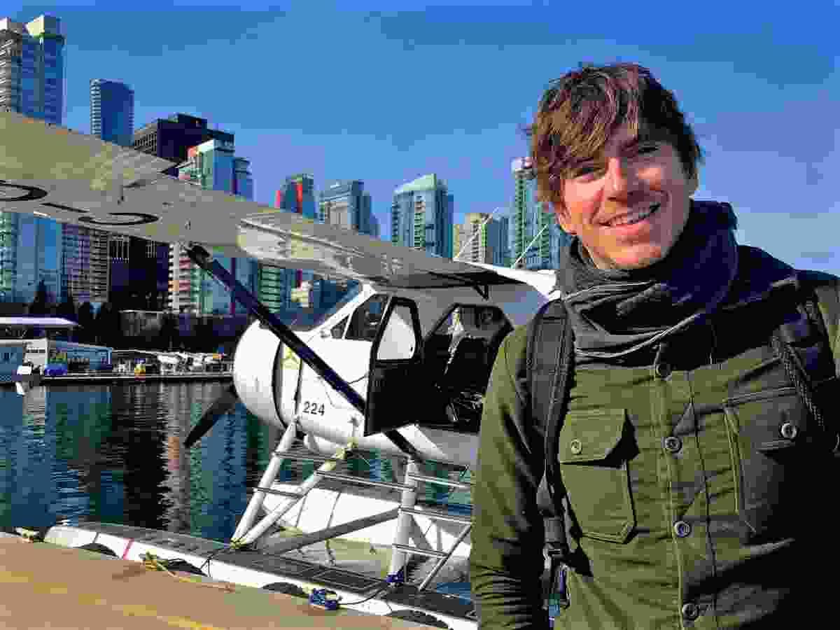 Simon in Vancouver, Canada (BBC/Jonathan Young)