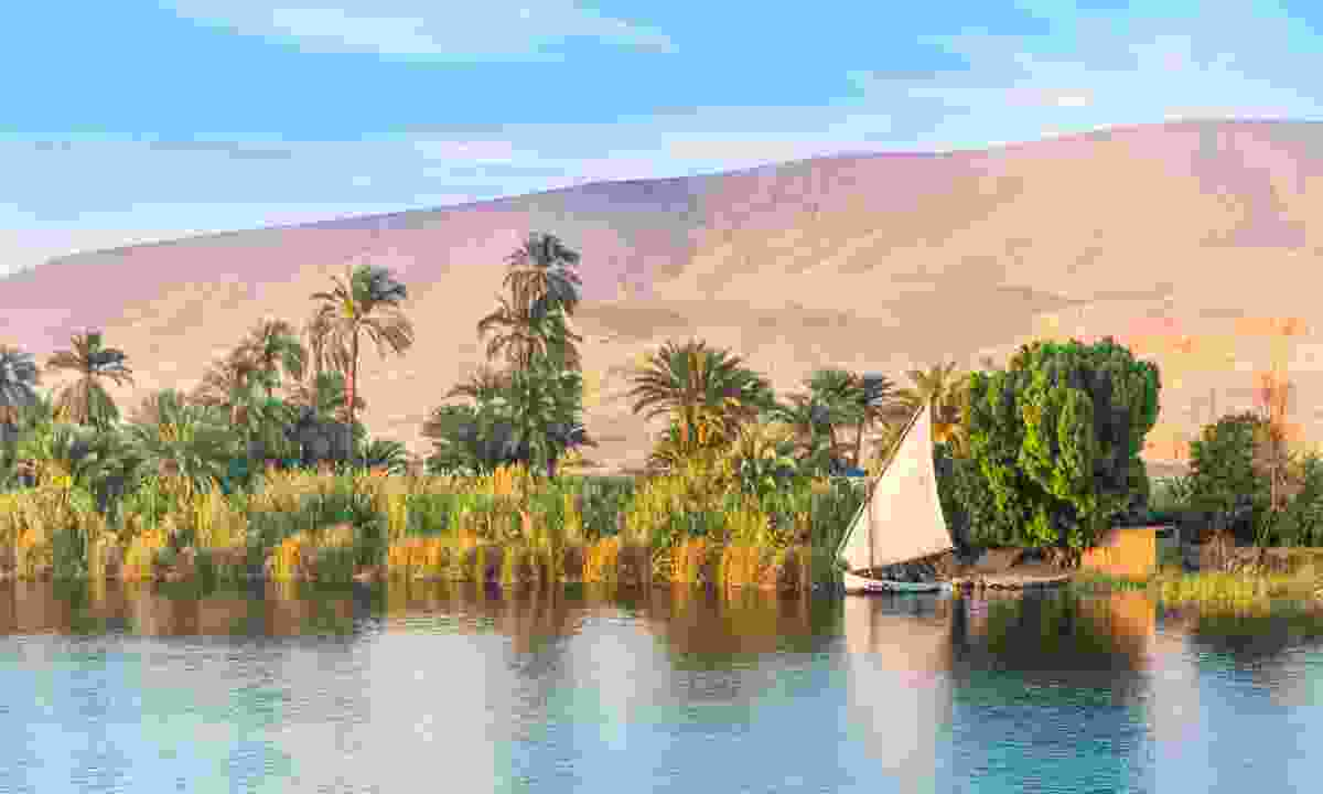 Cruise the Nile in Egypt (Shutterstock)