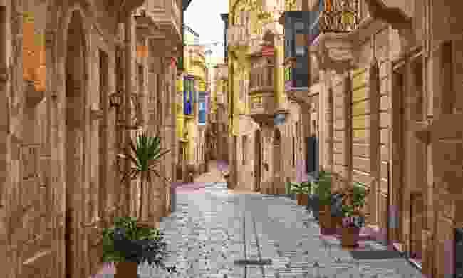 Explore the cobbled streets of Birgu (Shutterstock)
