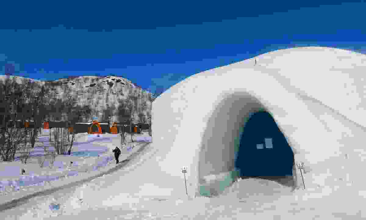 Snow igloo village, Finland (Shutterstock)