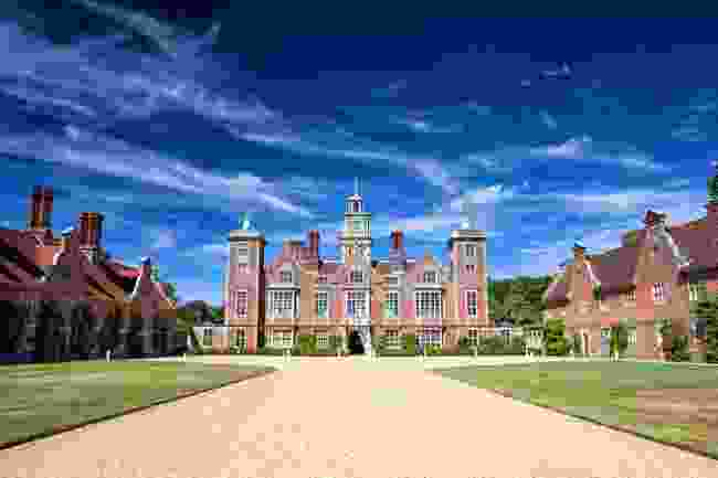 Blickling Hall was built in the 17th century on the site of an earlier dwelling where Anne Boleyn lived (Shutterstock)