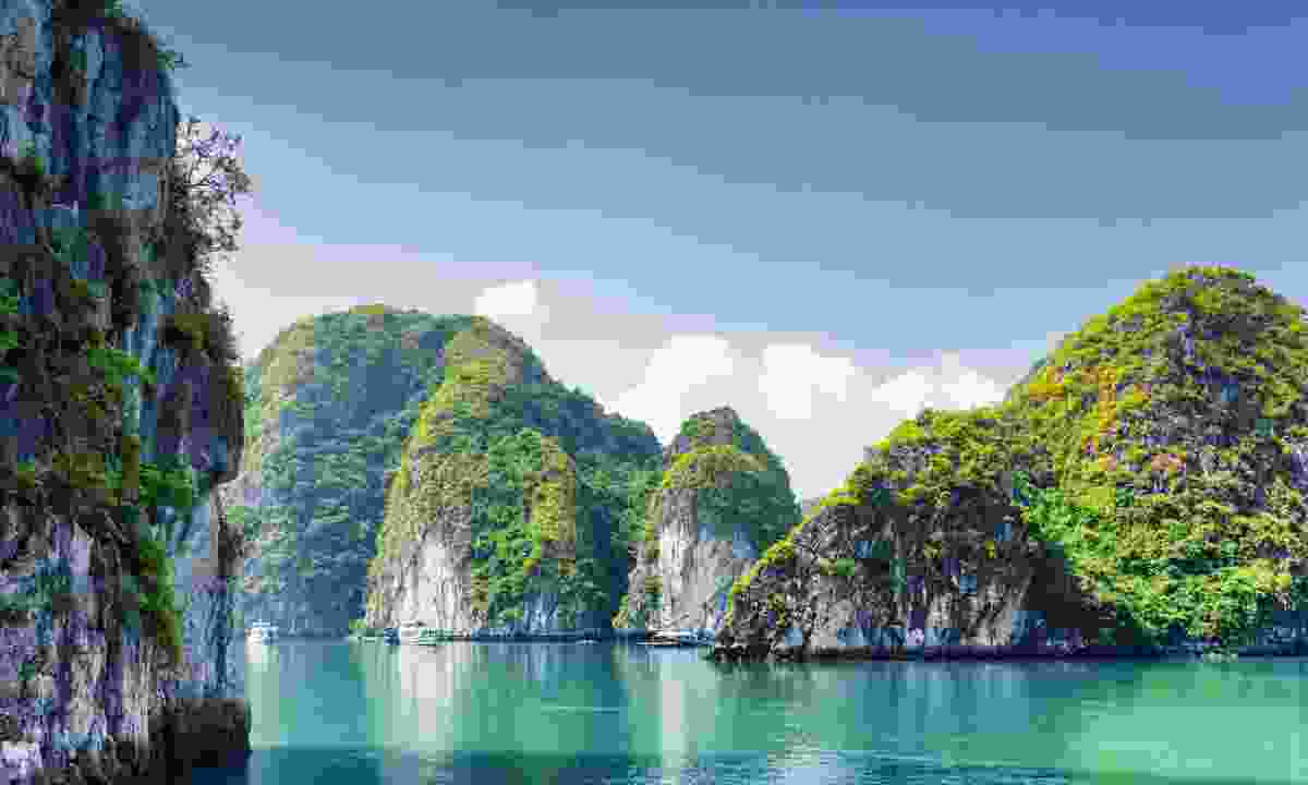 UNESCO-listed Halong Bay is cheaper to explore if you depart from Cat Ba Island (Shutterstock)