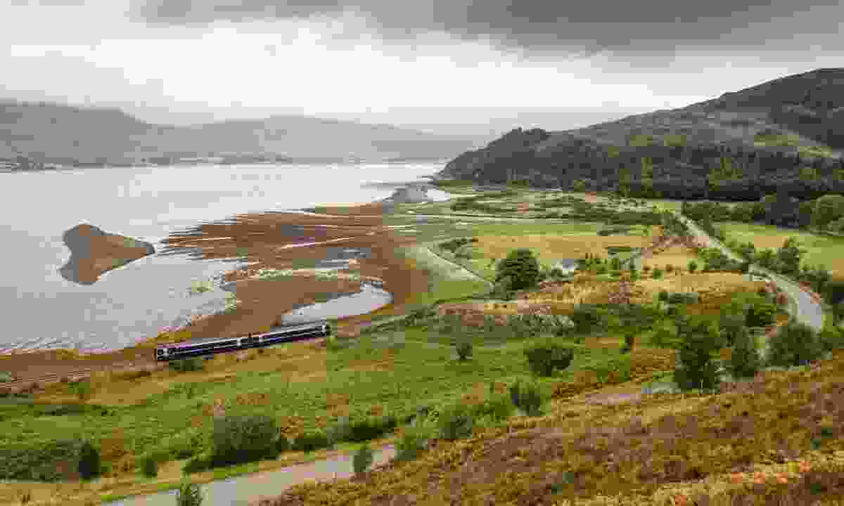 The Kyle Line is considered one of Scotland's most scenic rail routes (Shutterstock)