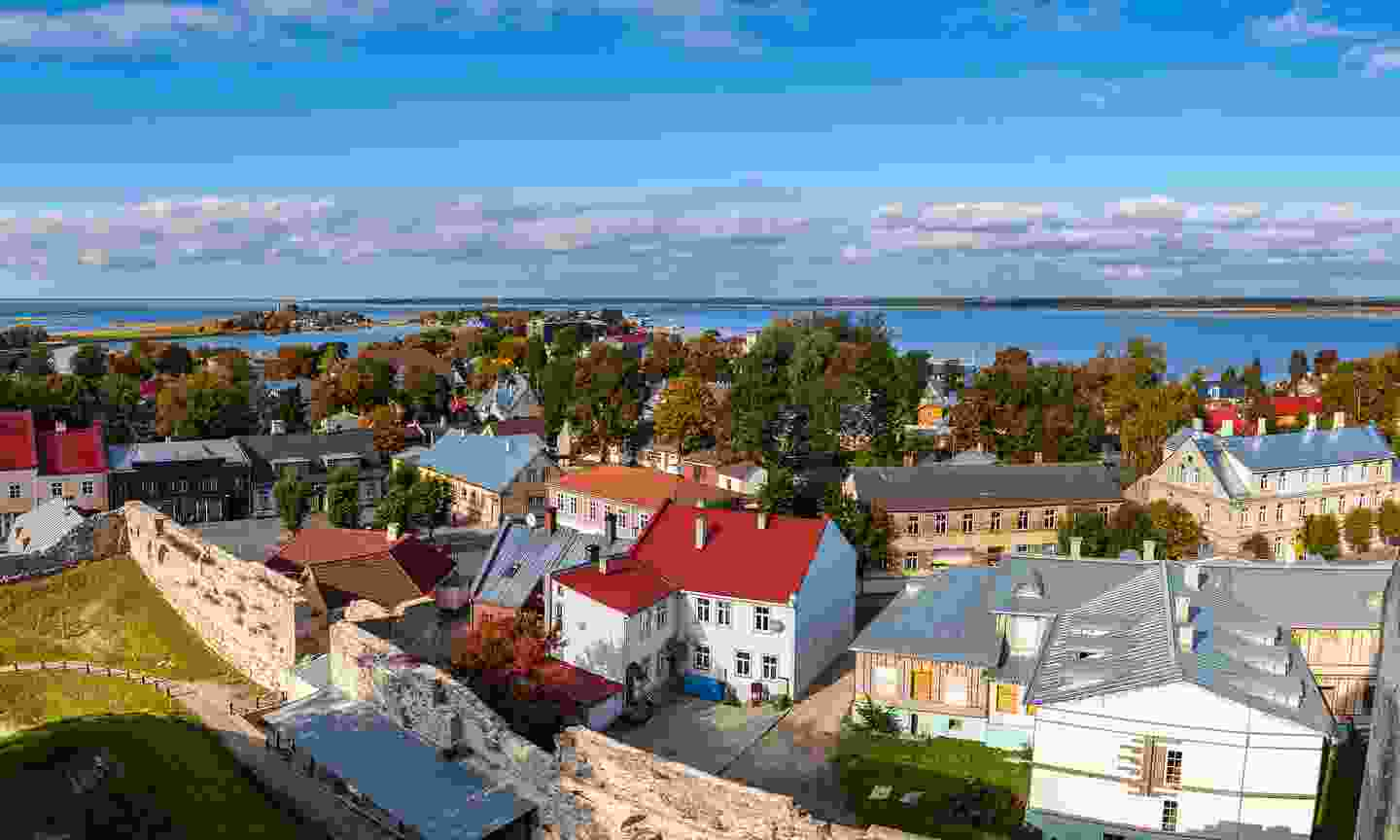 The lovely town of Haapsalu (Dreamstime)