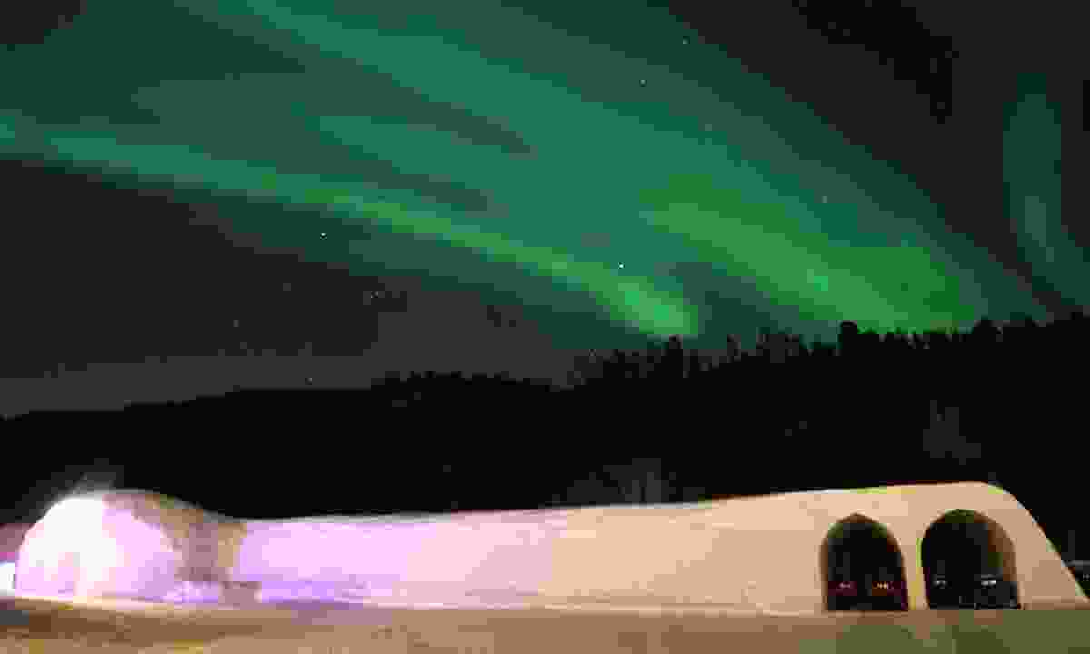 The Igloo Hotel under the northern lights (Sorrisniva AS)