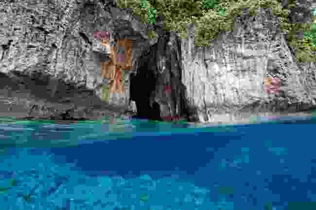 A lagoon in Tonga (Shutterstock)