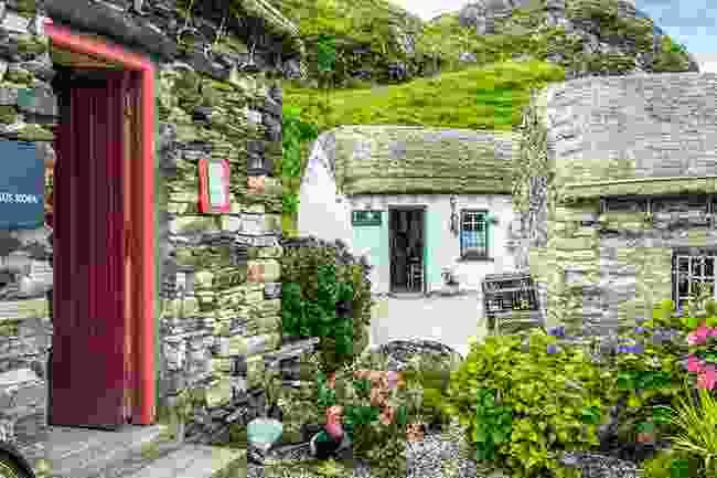 Glencolmcille folk village, County Donegal, Ireland (Alamy)
