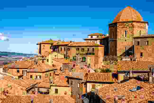 The medieval Old Town in Volterra, Italy (Shutterstock)