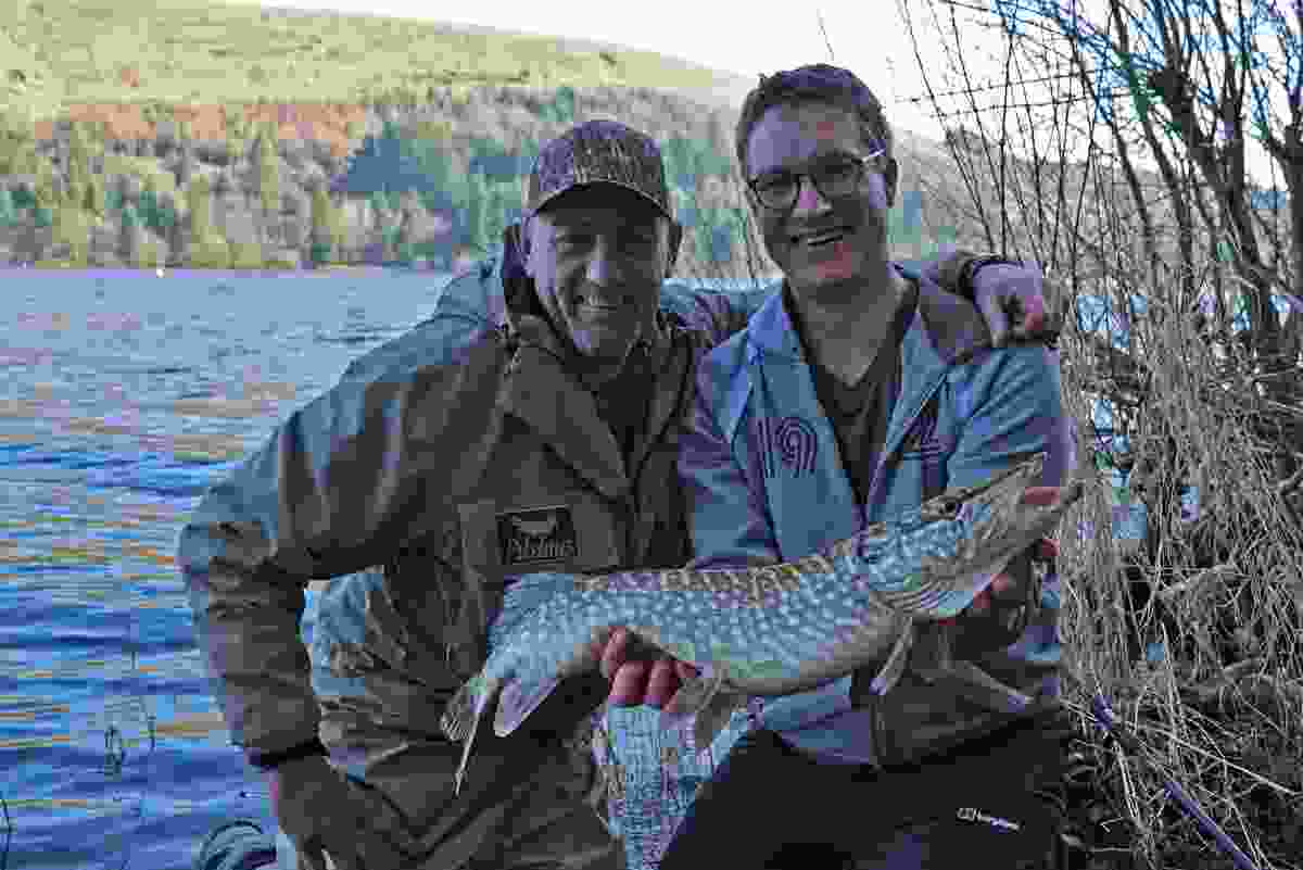 Will with a pike by the mysterious Celtic Deep (BBC Two)