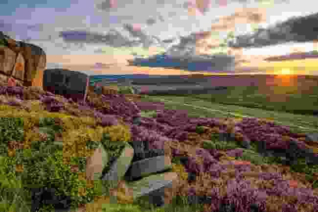 The Peak District, UK (Shutterstock)