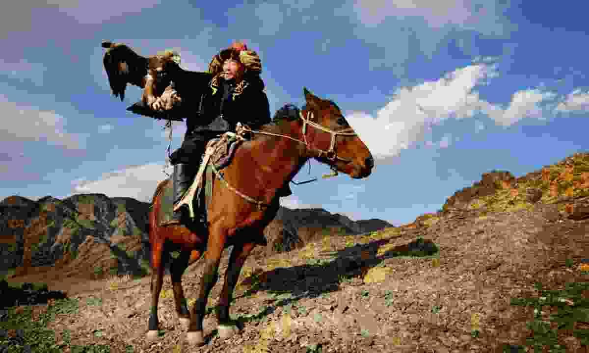 Kazakh horse rider (Shutterstock)
