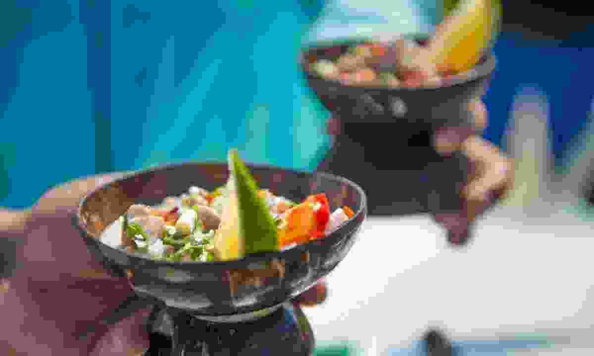 Kokoda – traditional coconut bowls (Tourism Fiji)