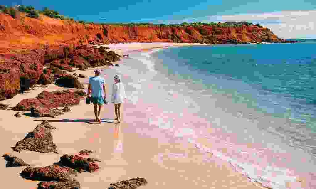 Francois Peron National Park in the Shark Bay (Western Australia)