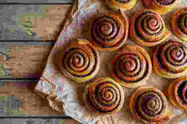 Cinnamon buns (Shutterstock)