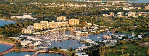 Aerial, Darwin City (Tourism NT)