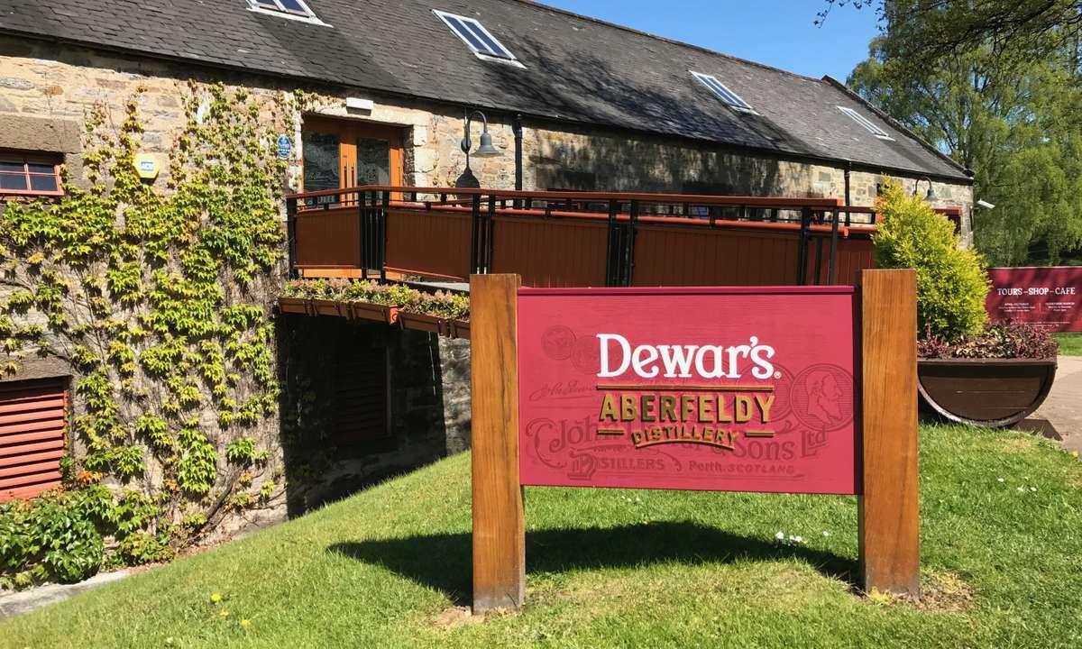 The home of Dewars (Aberfeldy Distillery)