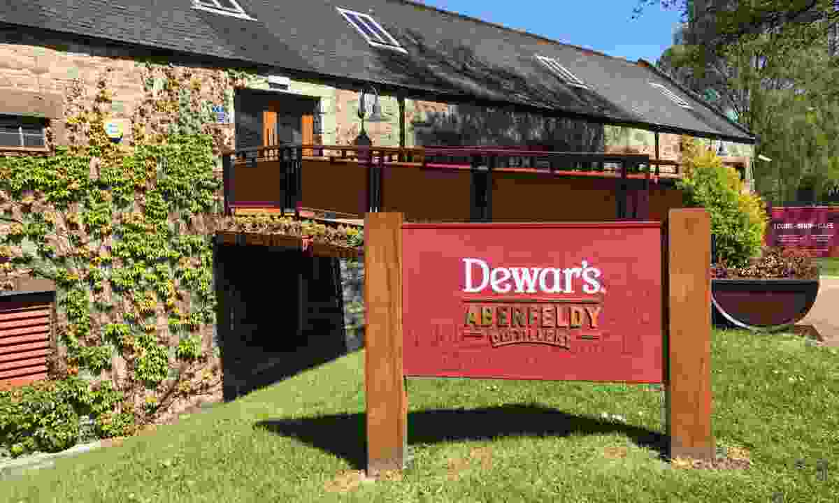 The home of Dewars (Aberfeldy Distillery)