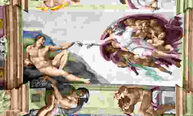 The ceiling in the Sistine Chapel (Dreamstime)