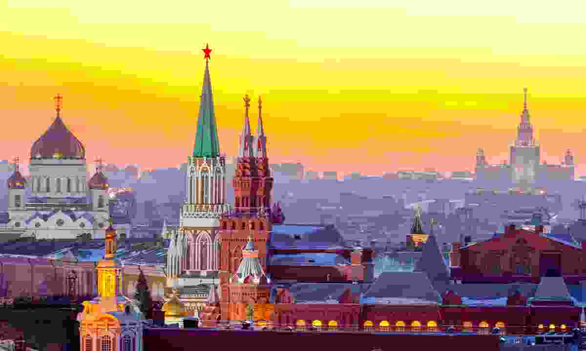 Sunset over Moscow (Dreamstime)