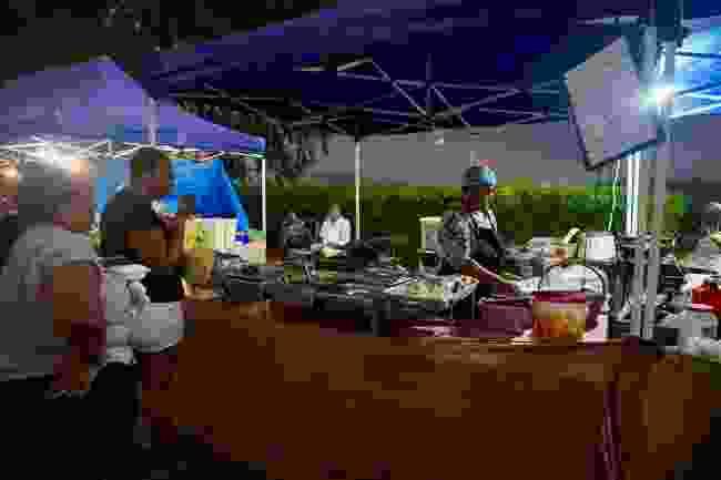 Creole street food hawker (Peter Moore)