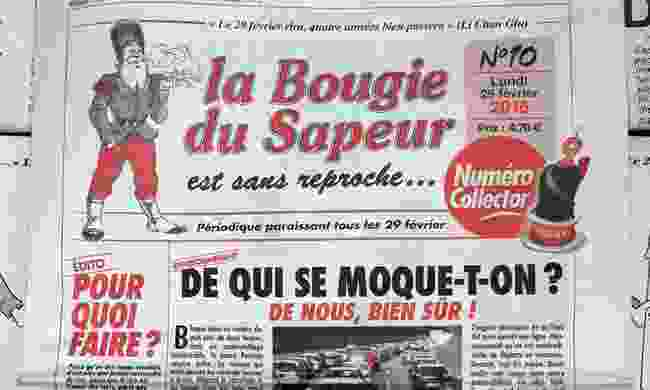 News for a day (La Bougie du Sapeur)