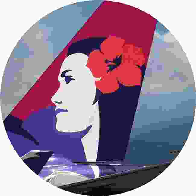 Pualani, the Island Girl with a hibiscus in her hair, is known as 'The Flower in the Sky', embodying the spirit of Hawaiian Airlines (Shutterstock)